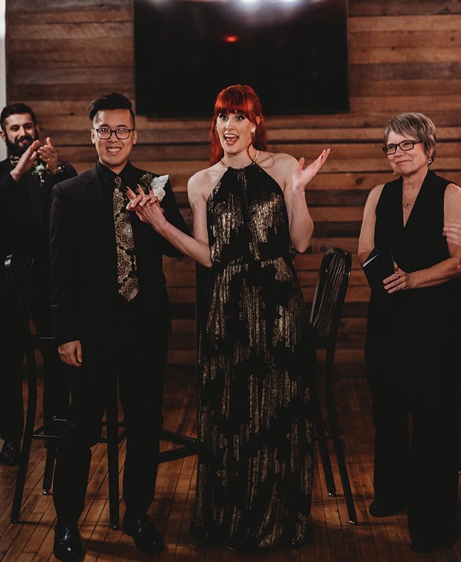 Taproom Wedding - We're Married!