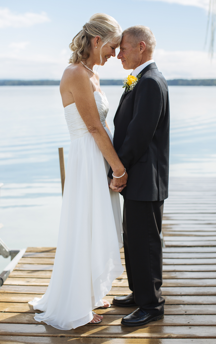 Cabin Wedding - Dock