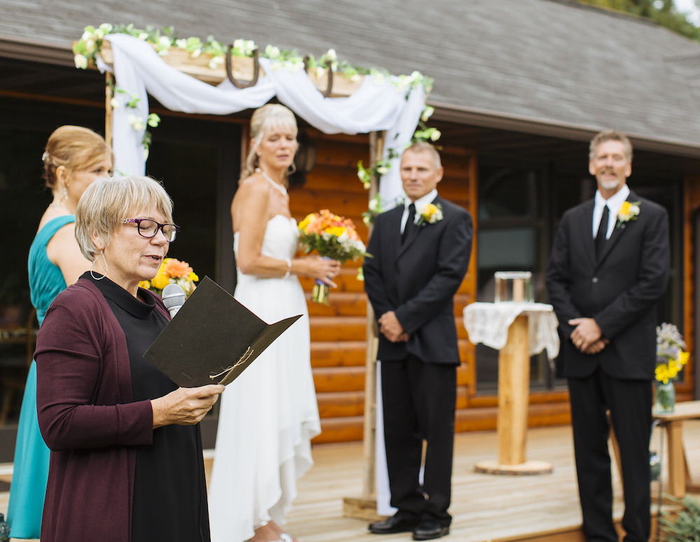 Cabin Wedding - Greeting