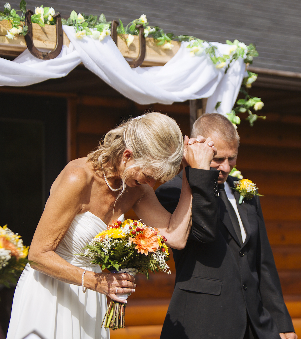 Cabin Wedding - Married