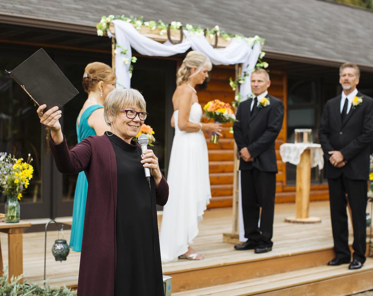 Cabin Wedding - Thunder