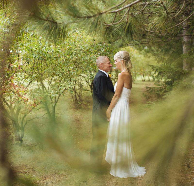 Cabin Wedding - Woods